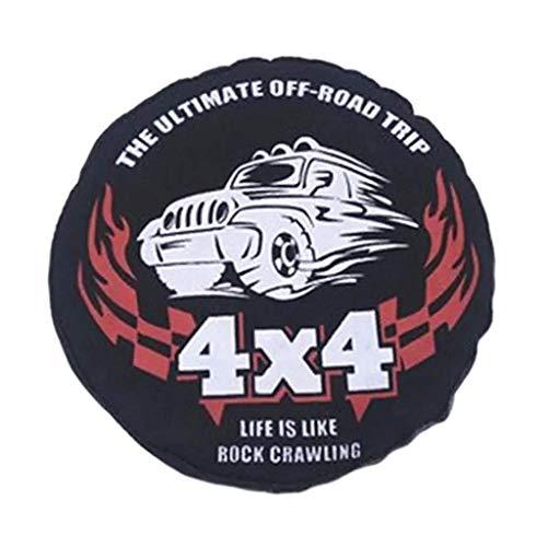 Fingerorthese.LQ - Cubierta de neumático de Repuesto a Escala 1:10, Protectores de Rueda Gruesos Impermeables a Prueba de Polvo ( Color : Default )