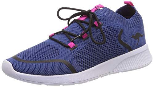 KangaROOS KangaFOAM Sock Unisex-Kinder Sneaker, Blau (Iced Blue/Daisy Pink 4219), 38 EU