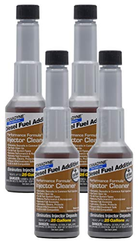 Stanadyne Performance Diesel Injector Cleaner QTY of 4 - 8oz bottles #43562