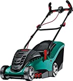 Bosch Rotak 370 LI Cordless Lawnmower with Two 36 V Lithium-Ion Batteries