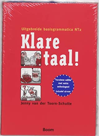 Klare taal!: uitgebreide basisgrammatica NT2: uitgebreide grammatica NT2