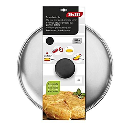 Ibili gibt Omelette Deckel aus Edelstahl–30cm