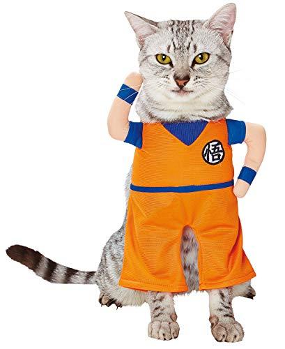 ペティオ (Petio) キャラペティ ドラゴンボール 猫用変身着ぐるみウェア 孫悟空