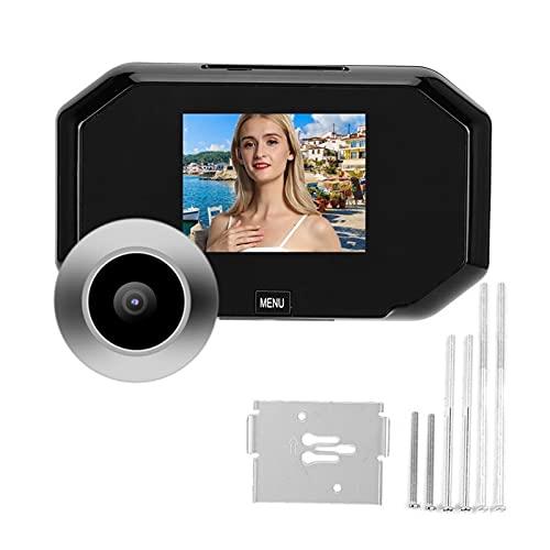 mrjg Pantalla Digital Digital Smart Digital Puerta de 3 Pulgadas HD Pantalla HD Pantalla Doorbell Security Cámara de Video