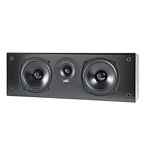 Polk Audio T30C - Altavoz, color negro