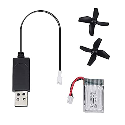 GEEKERA USB Cable for Drone, USB Charging Cable Drone Accessories Q1S Mini Drone Aircraft Helicopter