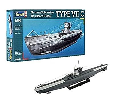 Revell 05093 19.2 cm German Submarine Type VII C Model Kit