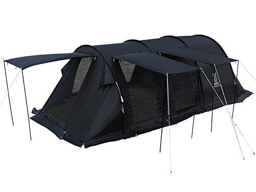 DOD カマボコテント2 ブラック 設営簡単 4~5人用 T5-489-BK