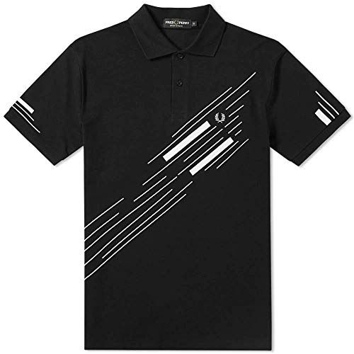 Fred Perry Abstract Graphic Pique Polo 3666-102-M