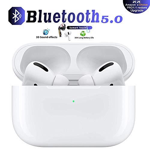 Bluetooth Kopfhörer, In-Ear Wireless Kopfhörer Touch Control Bluetooth 5.0 Headset, Noise Cancelling Ohrhörer mit Mikrofon und Tragbare Ladehülle Für Apple/Airpods Android/iPhone/AirPods Pro