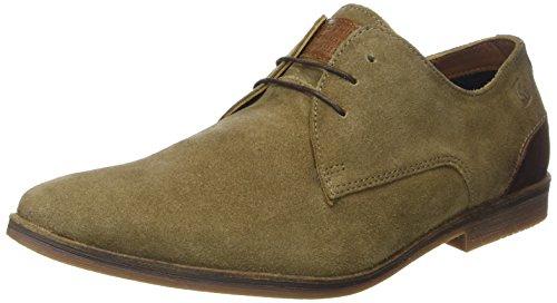 Redskins LANION2, Zapatos de Cordones Derby Hombre, marrón Topo Cognac, 41 EU