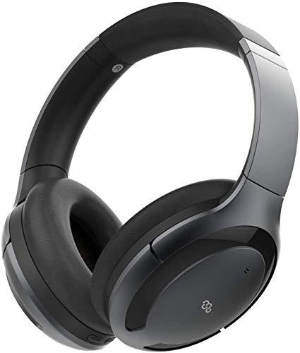 Mu6 高音質 ワイヤレス ノイズキャンセリングヘッドホン ANCハイブリッド式 bluetooth5.0 aptX-LL/SBC/AAC...