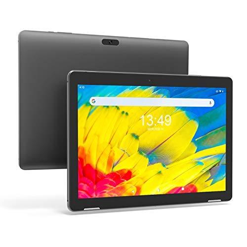 Tablet 10-Pollici WIFI Android 9.0 - Winnovo Tablet PC Quad Core 3GB RAM 32GB ROM MT8163 Dual Camera Bluetooth 4.0 GPS FM HDMI (NERO)