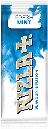 Rizla Flavour Infusions Fresh Mint Karten 25 Packungen (volle Box)