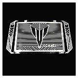 Red de protección del radiador Accesorios Plateados para Motocicleta, Protector de radiador, Rejilla Protectora, Cubierta de Parrilla para YA-MA-HA MT 09 MT-09 MT09 Tracer 2014-2017 (Color : B)