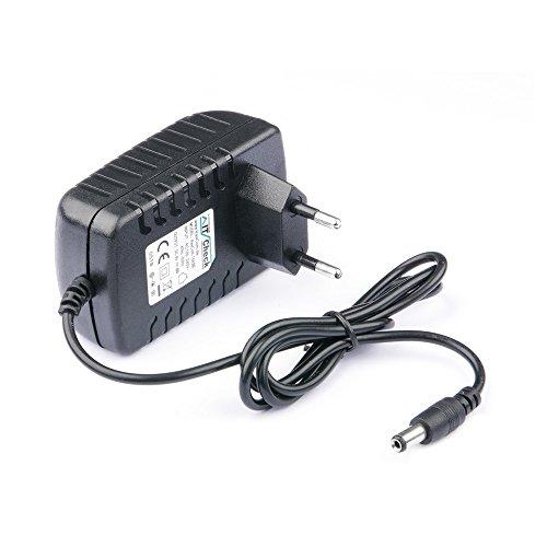 KesCom 9V Fuente con clavija de 5,5mm, apta para Casio CTK-11002000/CTK-11002100/CTK-11003000/CTK-11004000