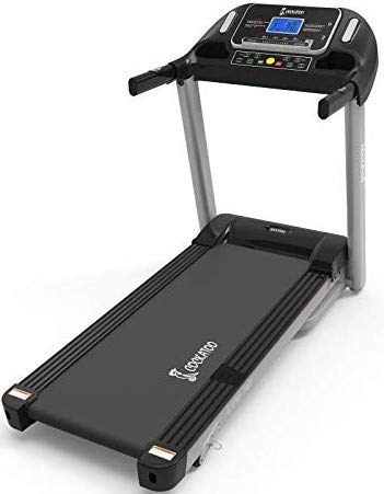 Cockatoo CTM-101 Stainless-Steel Ctm101 Steel Manual Incline 2.5 HP - 5 HP Peak DC Motorised Treadmill for Home Use, Free Installation Assistance, Others (Black) Iso Certified