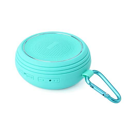 HIOD Bluetooth Inalámbrico Altavoz de Micrófono Incorporado Portátil Mini Subwoofer para Familia Deportes Al Aire Libre Viajar,Blue