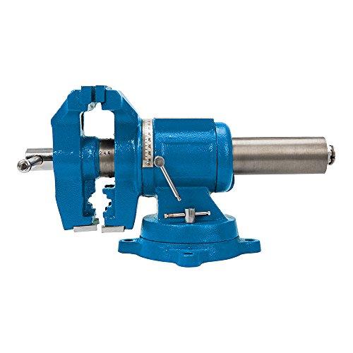 Silverline 979965 Etau multifonction 125 mm, Bleu