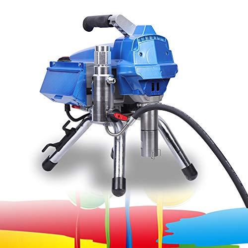 DiLiBee 3000W 3000 PSI Pulverizador Airless Pintura en aerosol Pistola de alta presión Airless Pulverizador de pintura Pistola de pulverización Airless electrónica controlada por presión