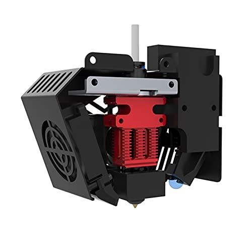 Bisofice Kit Hotend de extrusora completo ensamblado con sistema de calentamiento/enfriamiento/nivelación Boquilla de 0,4mm Bloque de calentamiento de aluminio Termistor de 100K ohmios 24V para CR-6SE