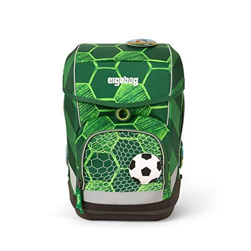 Ergobag cubo ElfmetBär, ergonomischer Schulrucksack, Set 5-teilig, 19 Liter, 1.100 g, grün