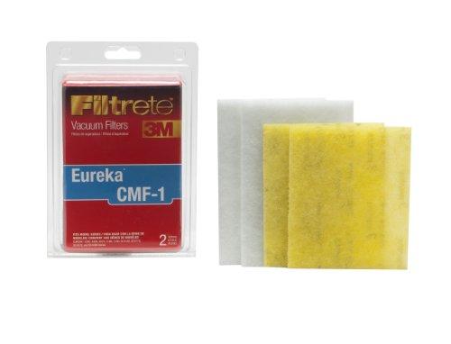 3M Filtrete Eureka CMF-1 Allergen Vacuum Filter, Red