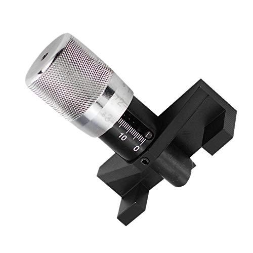 LQKYWNA Medidor de tensión Cambelt, aleación de Aluminio, Motor de Coche Universal, Correa de Leva, Herramientas de sincronización, medidor de tensión, tensiómetro de Ajuste