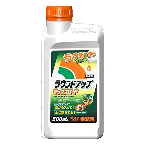 日産化学 除草剤 原液タイプ ラウンドアップマックスロード 500ml