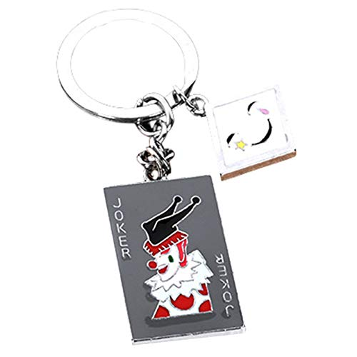 upain Anime Hunter x Hunter Alloy Dog Tag Pendant Keychain Keyring Novelty Key Buckle Ornaments Accessories for Birthday Christmas (STYLE 1)