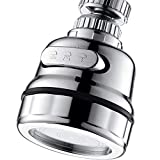EIGSO Movable Kitchen Sink Aerator - 360° Rotatable Faucet Sprayer Head Replacement for Kitchen,...