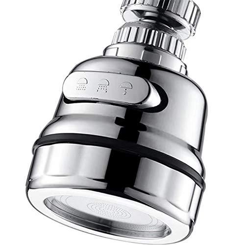 EIGSO Movable Kitchen Sink Aerator - 360°...