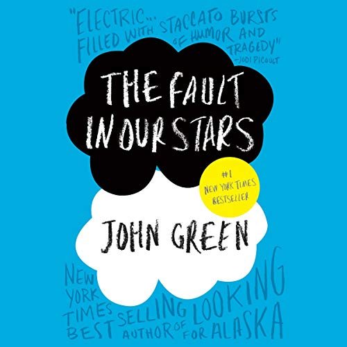 The Fault in Our Stars audiobook cover art