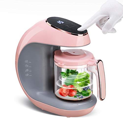 ZZQ Procesador de Alimentos,Multifunción 7 en 1 para Bebés - Al Vapor, Procesador de Alimentos, Limpieza Automática, Esterilizador de Biberones, Recalentar, Descongela - Robot Cocina Bebe