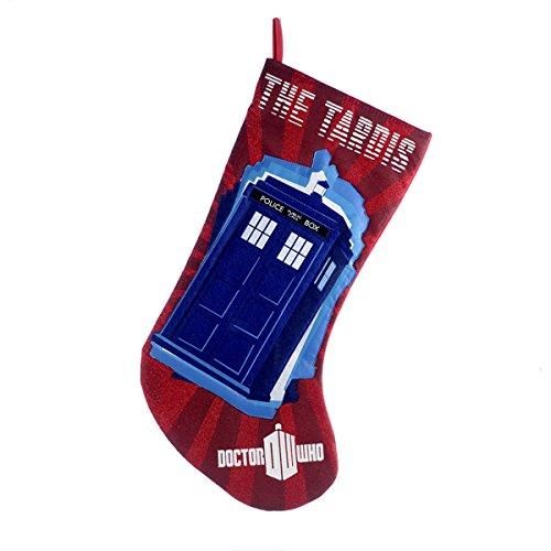 Doctor Who Tardis Christmas Stockings  Christmas Mosaic