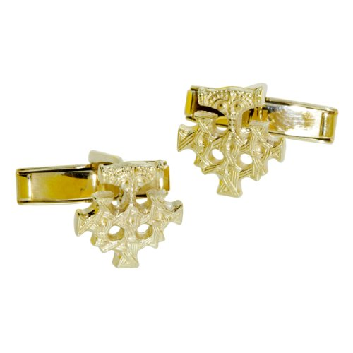 Ostsee-Schmuck - 001 150064 0001 - Boutons de manchette Homme - Or Jaune 8 Cts 333/1000