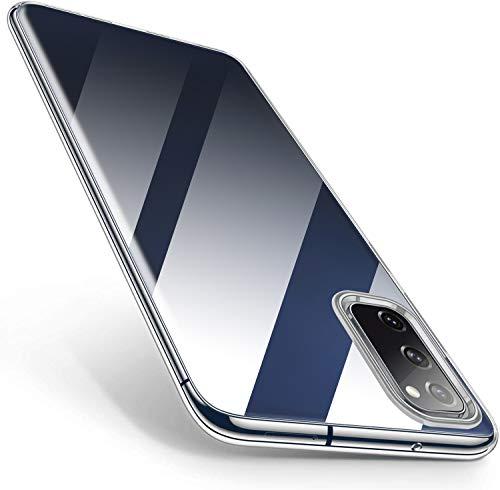 Vakoo Clear Serie Handyhülle für Samsung Galaxy S20 FE Hülle, Durchsichtige