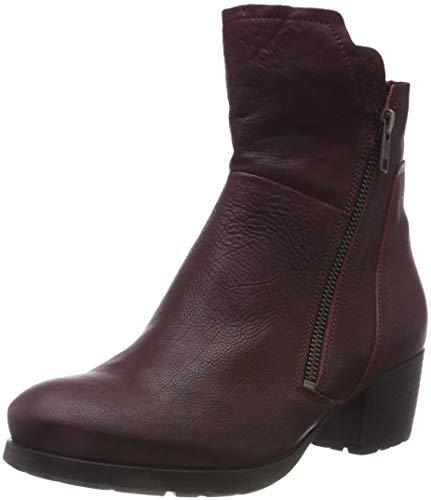 Think! Damen Obajo_383196 Biker Boots, Rot (34 Chianti), 39 EU