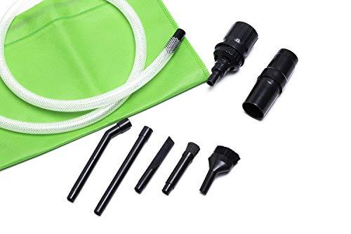 Green Label Universal Mikrodüsenset für Staubsauger, 8-teilig (32-35 mm)