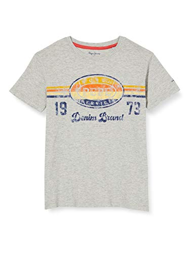 Pepe Jeans Adolf Camiseta, Gris (Light Grey Marl 913), 12-13 años (Talla...