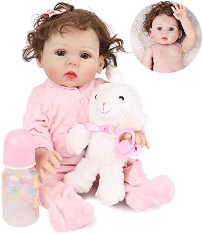 Kaydora Reborn Baby Doll Girl 16 inch Full Body Silicone Cute Lifelike Handmade Doll product image