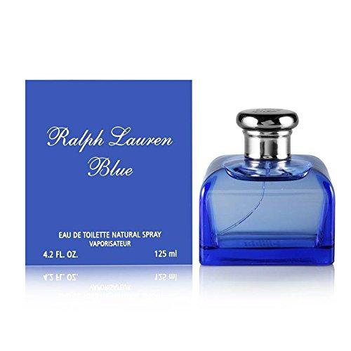 Ralph Lauren Blue Perfume by Ralph Lauren for Women. Eau De Toilette Spray 4.2 oz / 125 Ml