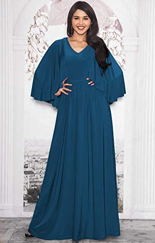 Bridesmaid dress with cape _image1