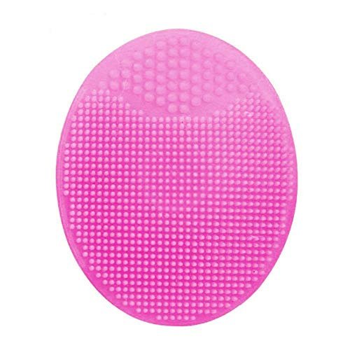 NBT Silicone Facial Beauty Wash Pad Exfoliant Blackhead Face Cleansing Brush Tool Nettoyage en Profondeur Femmes Face Brush, 12 no Box
