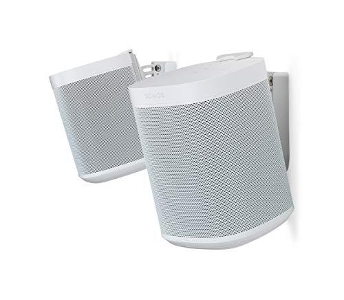 Flexson 652508000000 Väggfäste För Sonos One, Vit, Ett Par