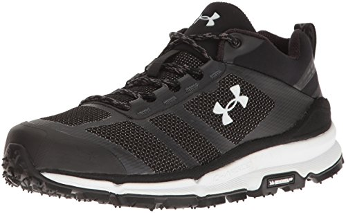 Under Armour Women's Verge Low Backpacking Boot, Black (001)/Black, 7.5