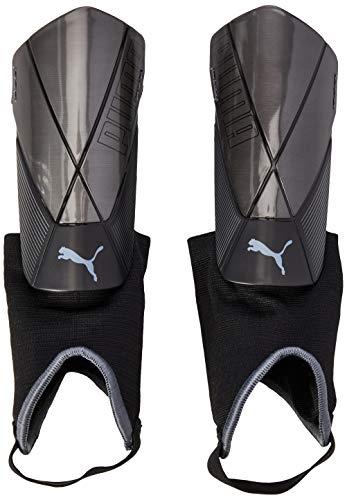 PUMA Unisex-Adult ftblNXT PRO Flex Ankle Schienbeinschoner, Black-Asphalt, L