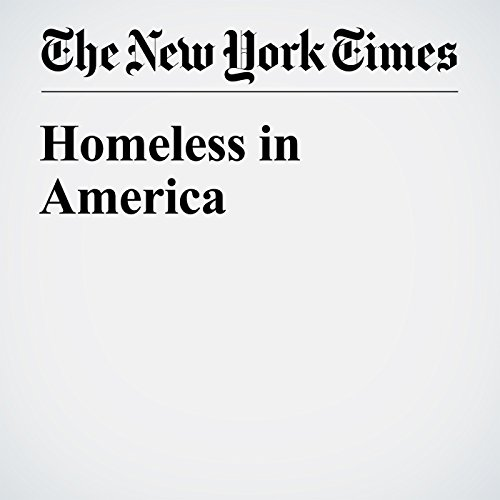 Homeless in America audiobook cover art