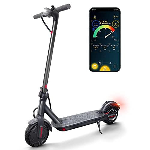 Patinete Electrico Adultos, hasta 30 Km Autonomía 30 km/h máx, conexión App...