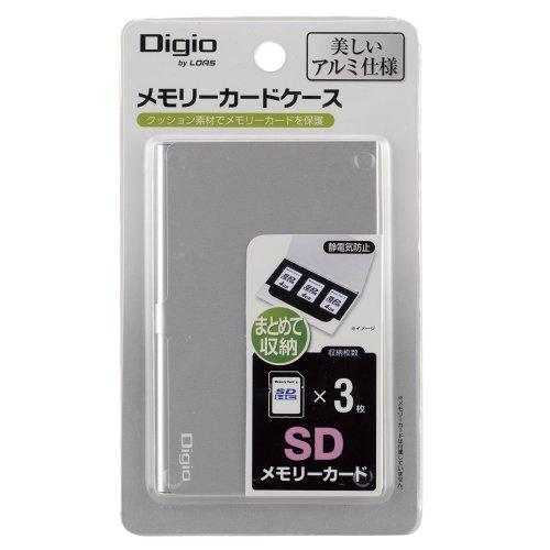 ナカバヤシ『SDメモリカードケースシルバー(MCC-801SL)』